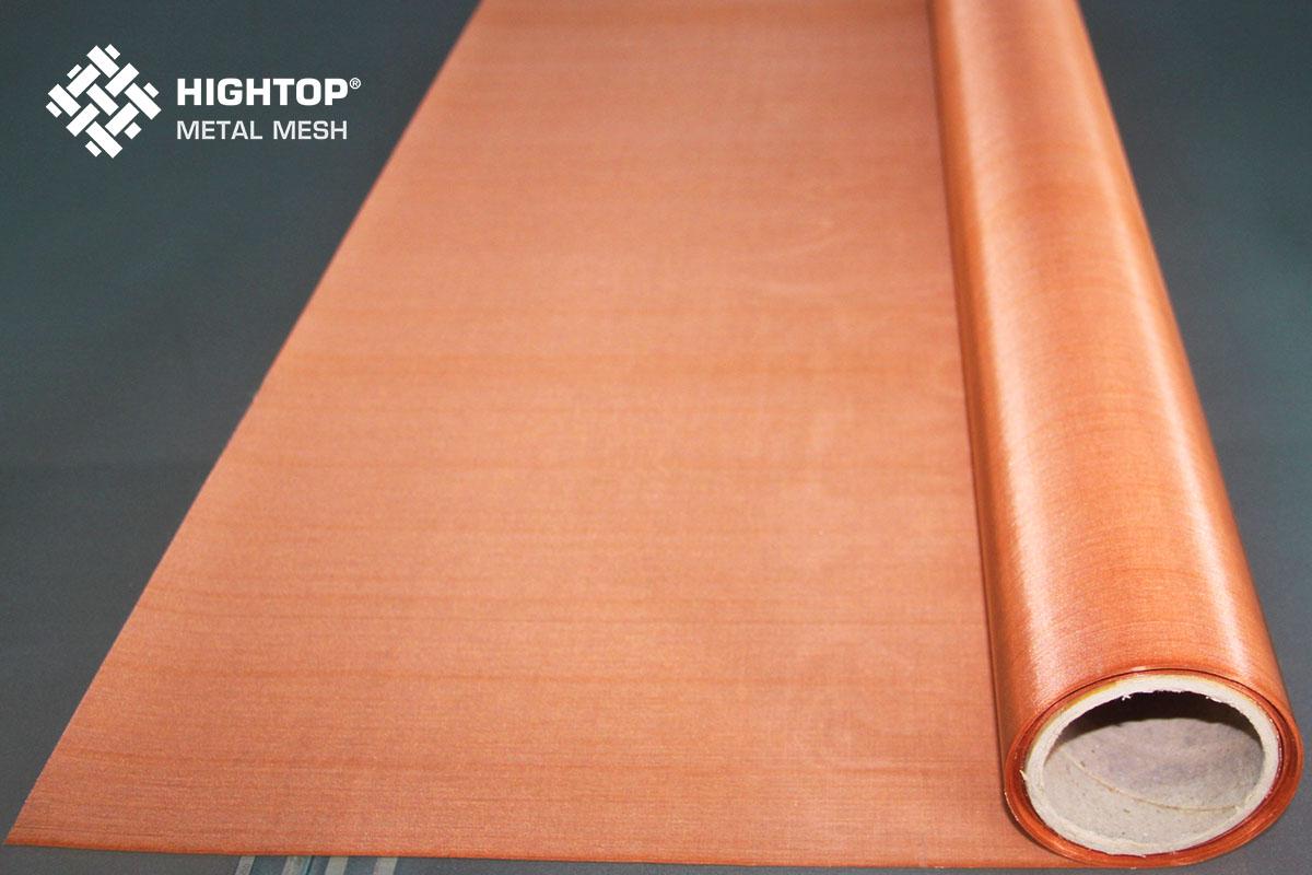 Copper wire mesh roll