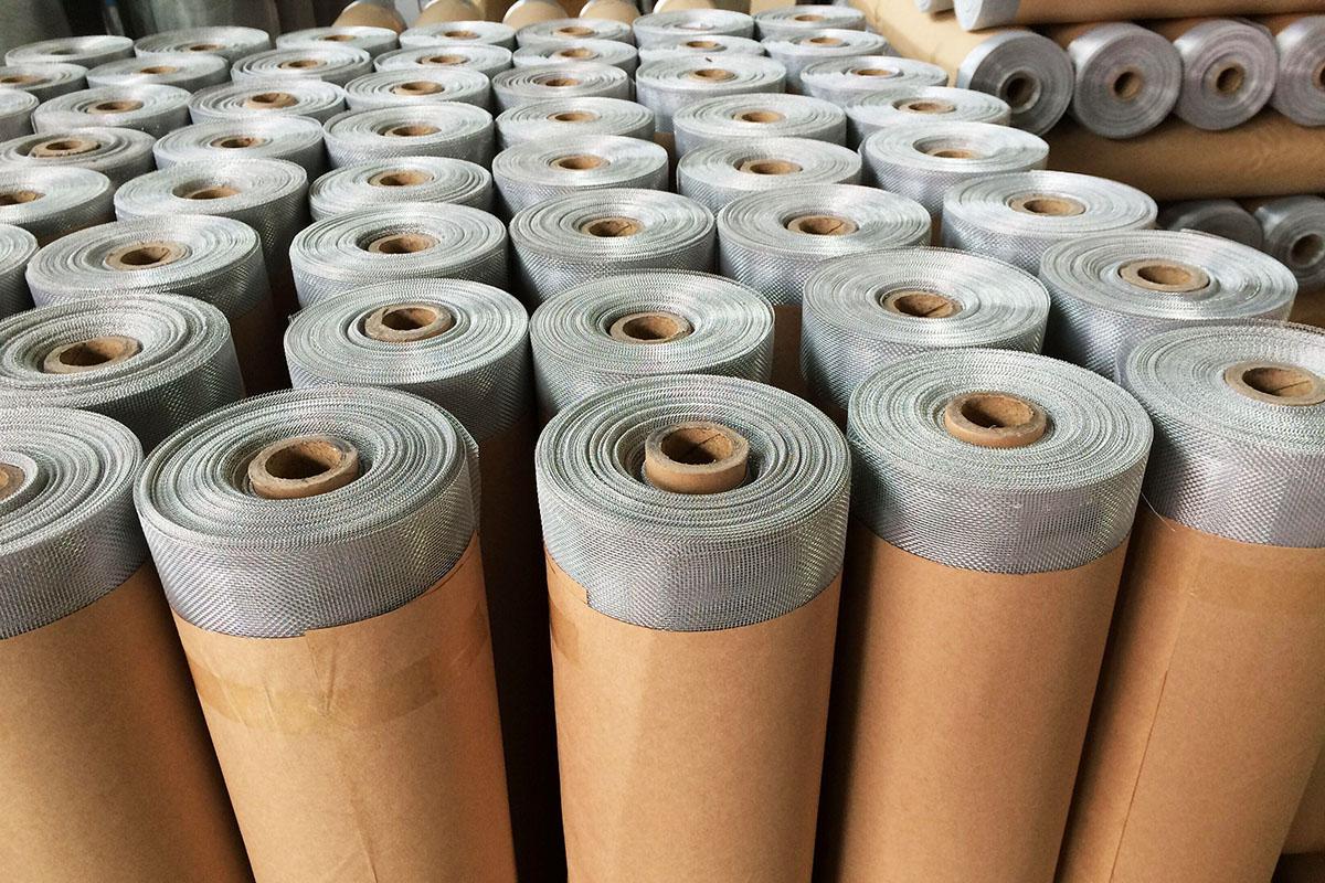 aluminum wire mesh rolls