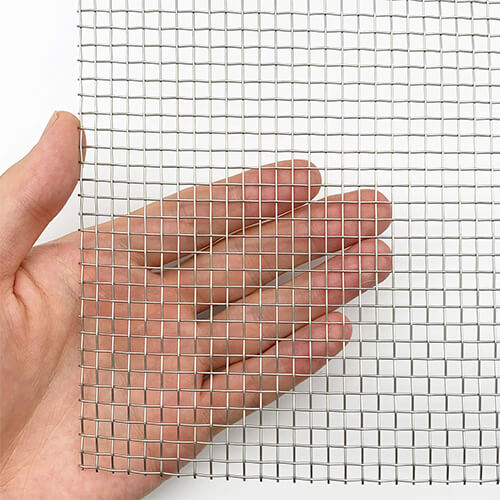 Stainless Steel Coarse Mesh
