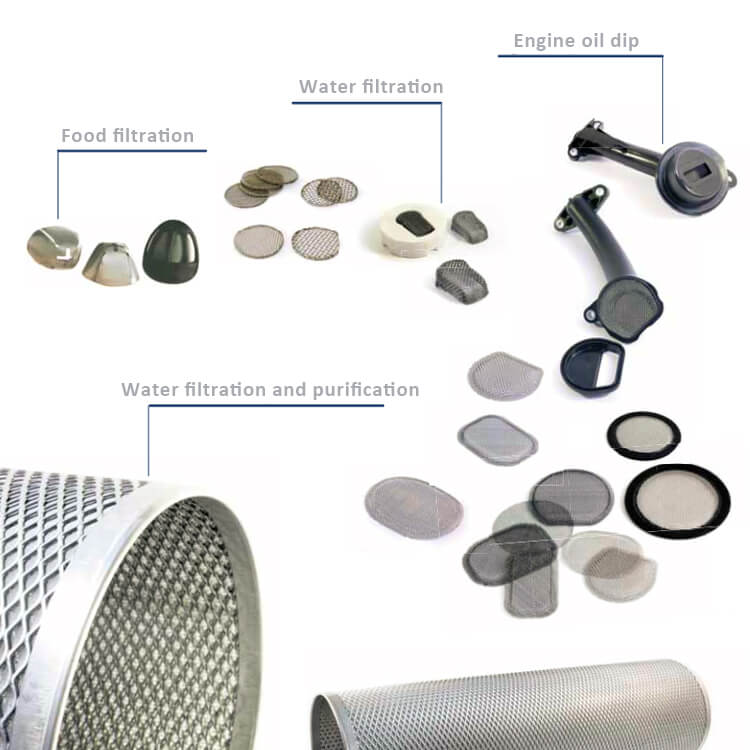 stainless steel wire mesh filtration